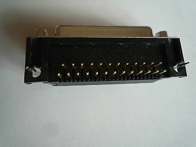 25 - PIN D-Type Socket Female Right Angled PCB Mounted Connector