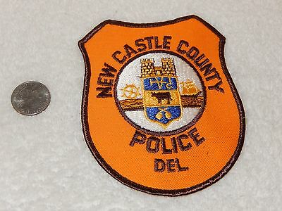 Vintage New Castle County Police Department patch Delaware Sheriff (s)
