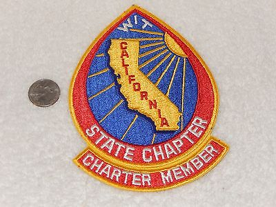 WIT California State Chapter Charter Member Winnebago Patch