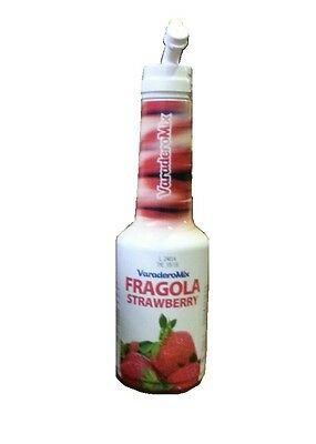 Sciroppo Fragola Speed Bottle VaraderoMix 75cl Cocktail Mixology Strawberry