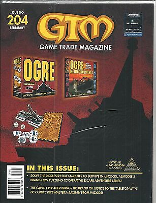Game Trade Magazine # 204 (OGRE Reinforcements, Sealed, FEB 2017), NM NEW