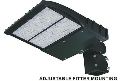 Shoe-box 150w LED Parking Lot Light Fixture UL DLC approved - 5yrs warranty