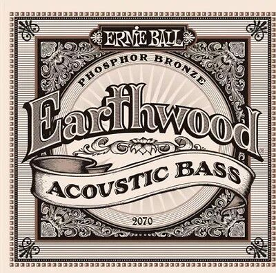 Ernie Ball 2070 Earthwood Acoustic Bass Set