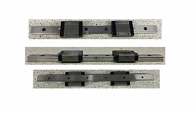 "IKO LW15B Linear Rail 9 3/4"" Length"