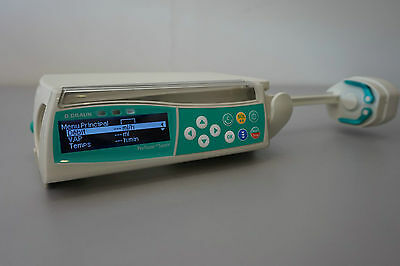 B Braun Perfusor Space infusion fluid IV pump with French language