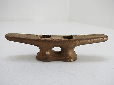 4 Inch Bronze Cleat Ship Boat Dock Brass (#1757)