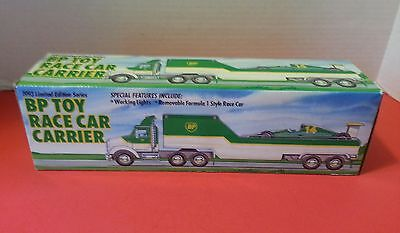 1993 Limited Edition Series BP Toy Race Car Carrier