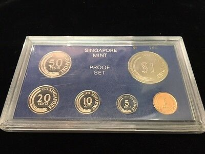 Rare 1973 Singapore Proof set
