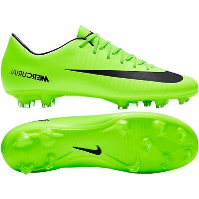 1f215b63707d NIKE MERCURIAL VICTORY VI FG 2017 Soccer Shoes Brand New Ghost Green   Black  -  109.99