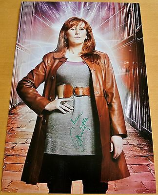 Catherine Tate Genuine Hand Signed Autograph 12X8 Photo Doctor Who Donna & Coa
