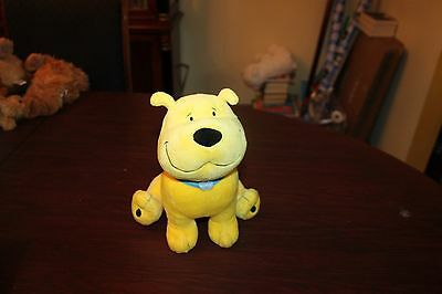 "Kohl's Care T Bone 10"" Yellow Puppy Stuffed Animal"