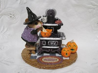 Wee Forest Folk The Old Black Stove - Limited Edition Halloween from 2003