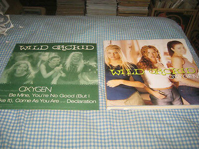 FERGIE-(wild orchid-oxygen)-1 POSTER FLAT-2 SIDED-12X12-NMINT-RARE