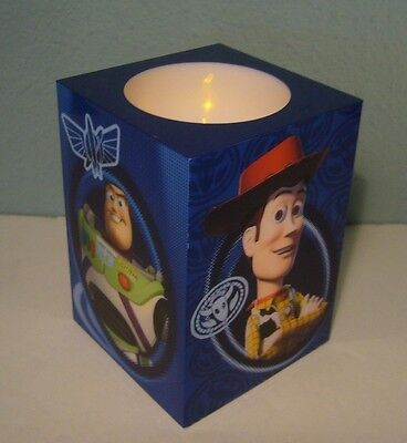 New Disney Pixar Toy Story Cube Night Light/Faux Flickering Candle