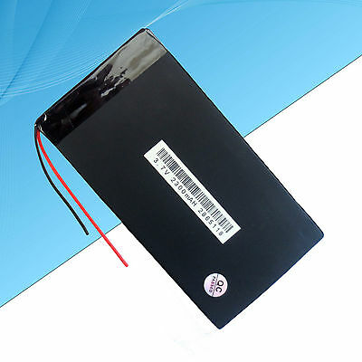 Rechargeable Polymer Lithium Battery  2300 mAh / 3.7V