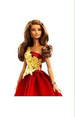 NIB 2016 Holiday Barbie Latina Doll 2017 Winter Sale