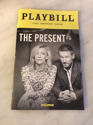 The Present Playbill New York City Broadway Cate Blanchett Barrymore Theatre Ny