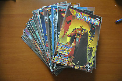 Games Workshop Black Library Warhammer monthly issues 1 to 33 and issue 0