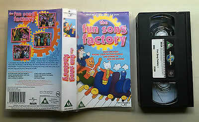 The Fun Song Factory - Vhs Video