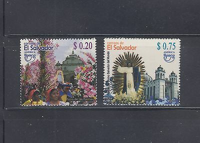 El Salvador 2008 Christian Holiday  Sc 1690-1691 Mint Never Hinged