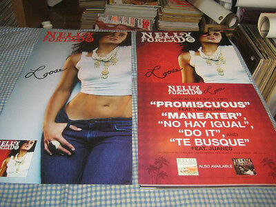 NELLY FURTADO-(loose)-1 POSTER FLAT-2 SIDED-12X24-NMINT-RARE