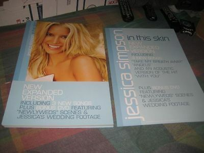 JESSICA SIMPSON-(in this skin)-1 POSTER-2 SIDED-NMINT-RARE