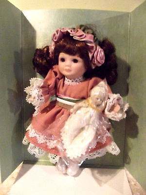 Marie Osmond 1997 Mother's Day Greeting Card Doll Limited Edition