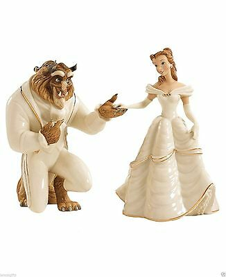 Lenox Disney Beauty and The Beast My Hand My Heart is Yours NEW ITEM