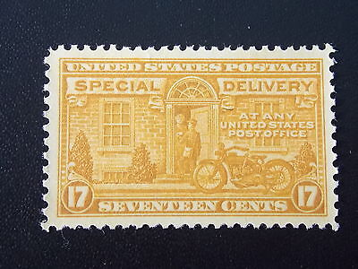 1922 17c Dark Yellow Special Delivery MNH Stamp from USA