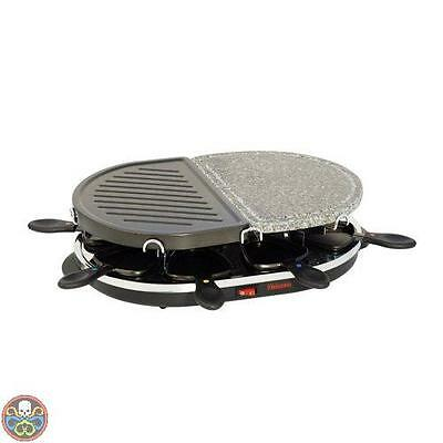 Tristar Black Ra-2946 Raclette Grill A Pietra Nuovo