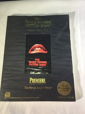 The Rocky Horror Picture Show Original Movie Script 20th Anniversary Edition CE