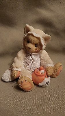 """Cherished Teddies TABITHA """"You're the cat's meow"""" 1996 Reg# 6H5/411"""