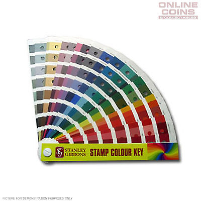 Stanley Gibbons Colour Key for Stamps