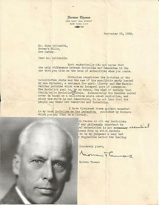 FDR Embraced Policies of Woodrow Wilson Student, Socialist Norman Thomas