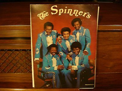 The Spinners Tour Program From Late 1970's Very Good Condition John Edwards