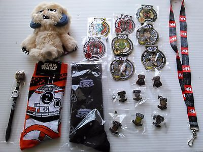 LOT OF 21 NEW ITEM  DISNEY  Star Wars Smuggler's Bounty ,LOOT CRATE, FUNKO {A}