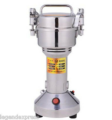 150g High Speed Electric Herb Grain Grinder Cereal Mill Flour Powder Machine