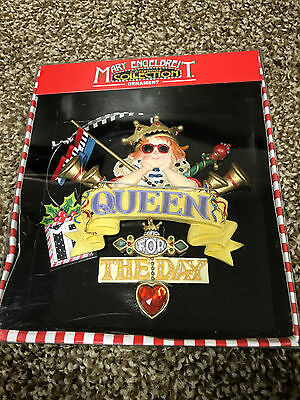 NIB, New, Mary Engelbreit Ornament Christmas Collection Queen For The Day