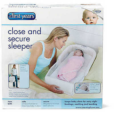 NEW The First Years Close and Secure Sleeper
