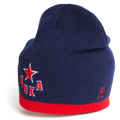 37ae1a4515d HC CSKA Moscow KHL beanie hat. Russian hockey. officially licensed