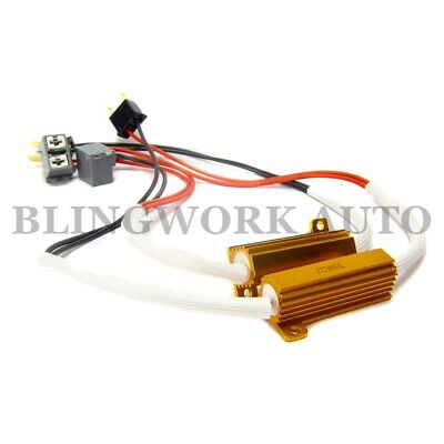 50w 8ohm Load Resistor Car LED Headlight Coversion CANbus Error Cancel Wire H7