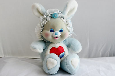 Vintage 1980s Kenner CARE BEAR CUB Baby Swift Heart Rabbit