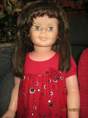 "36"" SAYCO  PLAYPAL  DOLL with WIG"