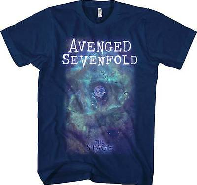 AVENGED SEVENFOLD - SpaceFace T SHIRT S-2XL New Official Live Nation Merchandise