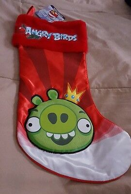 New Angry Birds Stocking