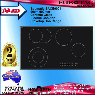 Eurotag 90Cm S/s 5 Burner Gas Cooktop With Heavy Duty Cast Iron And Wok Burner