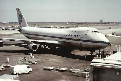 Boeing 747 Pan American World Airways John F Kennedy Airport Am, Modern Postcard