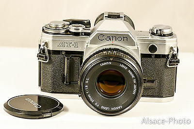 CANON AT1 35mm CANON fd 1.8 50 mm