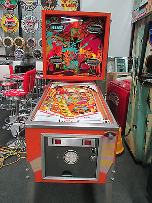 Sinbad Pinball Machine By Gottlieb 1978