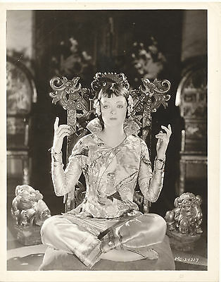 Myrna Loy/mask Of Fu Manchu/8X10 Original Photo  Cc17341  2-17